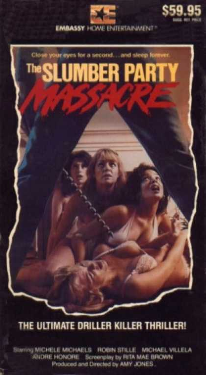 VHS Videos - Slumber Party Massacre