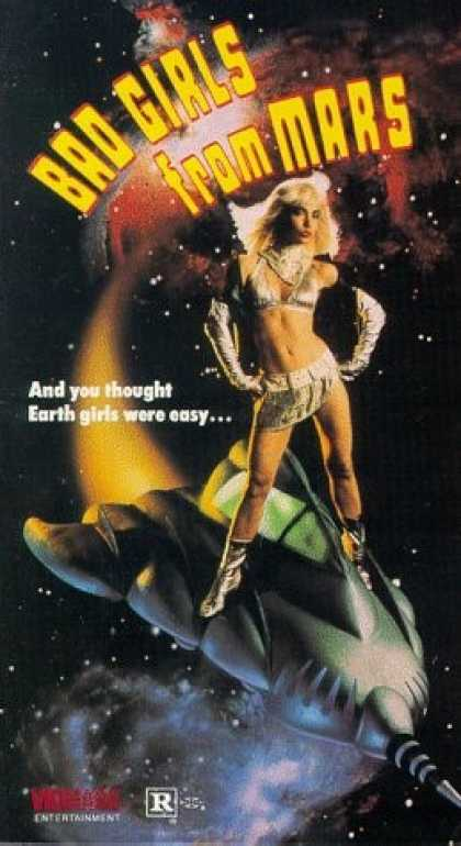 VHS Videos - Bad Girls From Mars