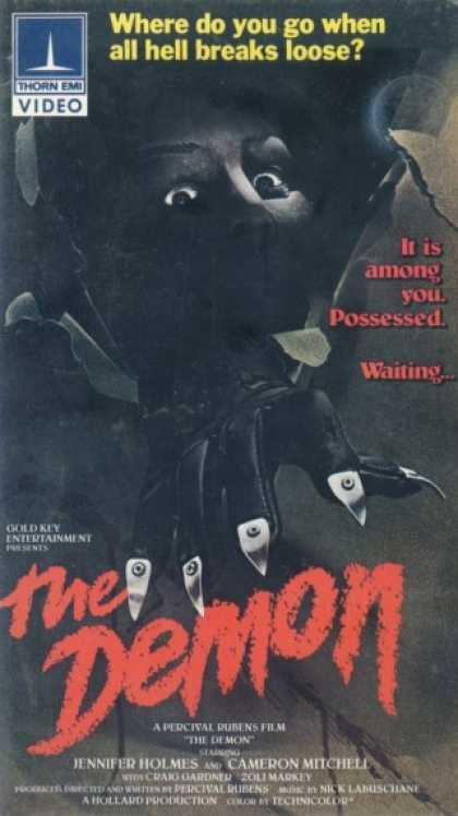 VHS Videos - Demon 1979 Thorn