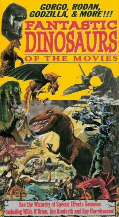 VHS Videos - Fantastic Dinosaurs Of the Movies