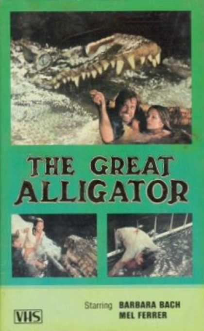 VHS Videos - Great Alligator