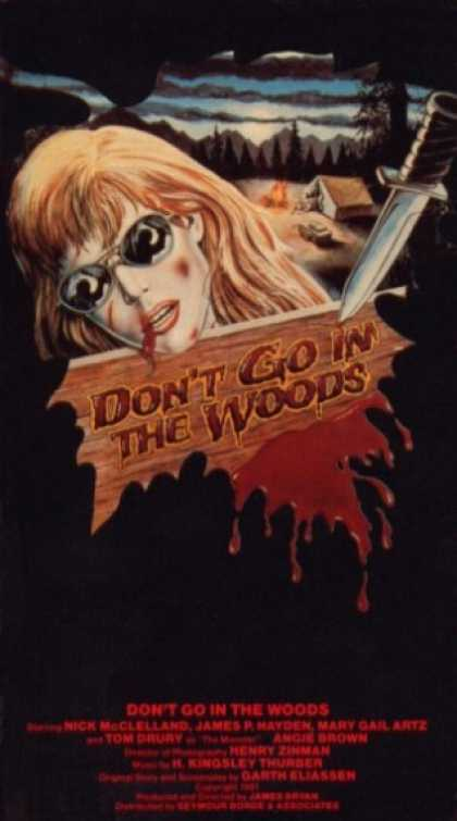 VHS Videos - Don't Go in the Woods