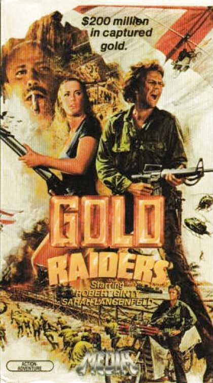 VHS Videos - Gold Raiders