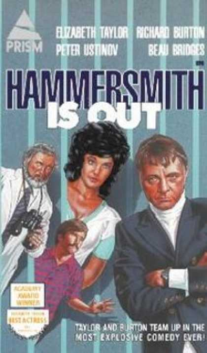 VHS Videos - Hammersmith Is Out