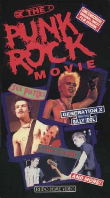VHS Videos - Punk Rock Movie
