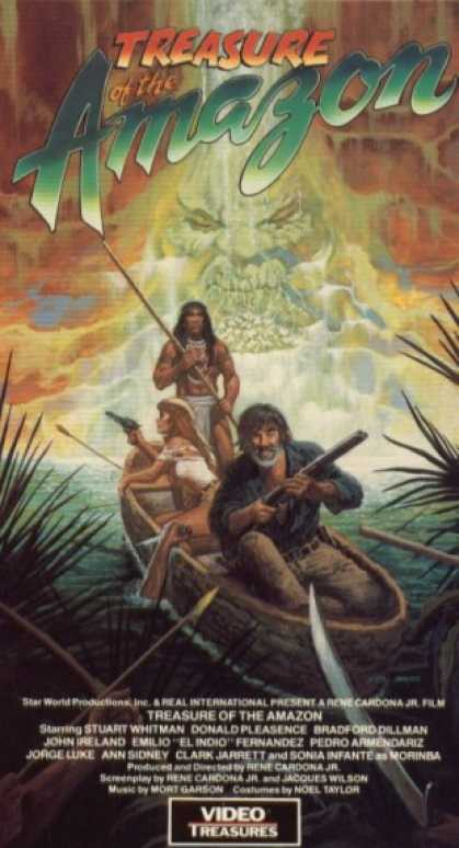 VHS Videos - Treasure Of the Amazon