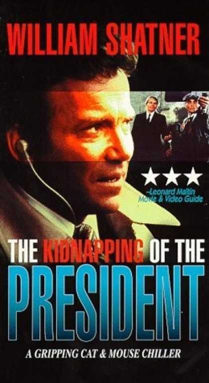 VHS Videos - Kidnapping Of the President United American