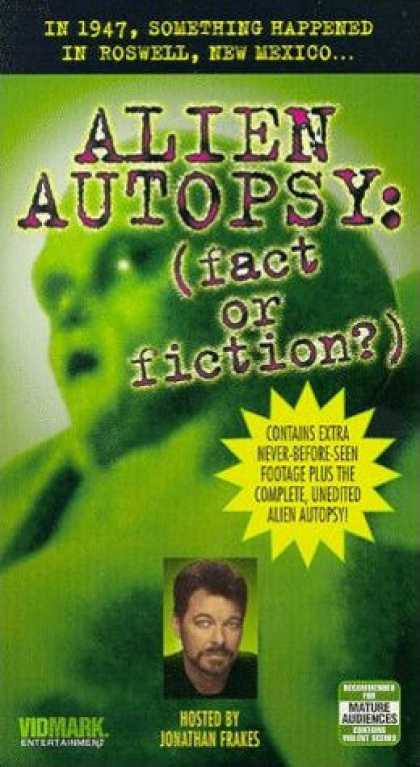 VHS Videos - Alien Autopsy Fact or Fiction