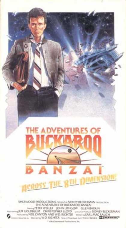 VHS Videos - Adventures Of Buckaroo Banzai