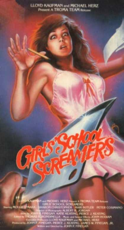 VHS Videos - Girl School Screamers