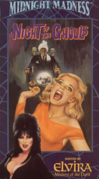 VHS Videos - Night Of the Ghouls