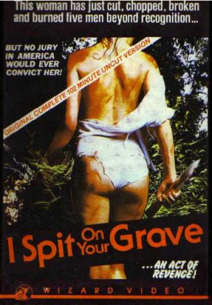 VHS Videos - I Spit On Your Grave
