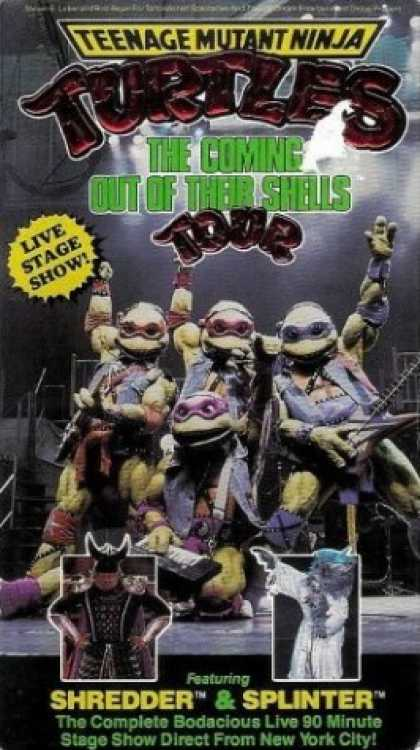VHS Videos - Teenage Mutant Ninja Turtles Tour