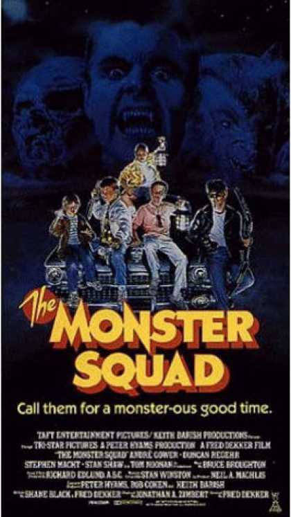 VHS Videos - Monster Squad