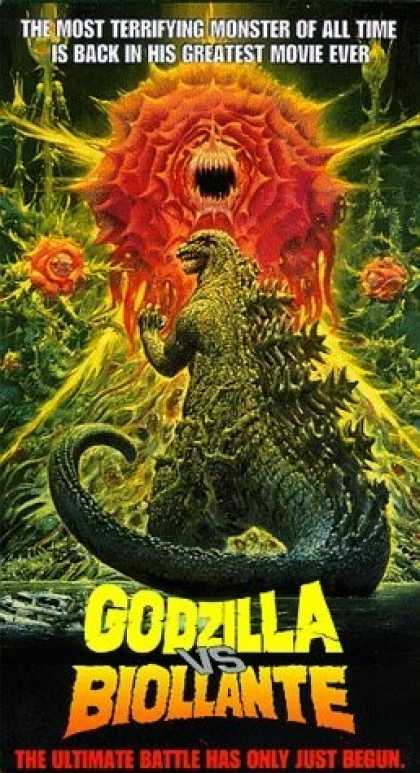 VHS Videos - Godzilla Vs. Biollante