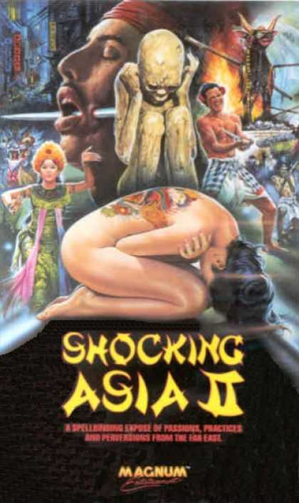 VHS Videos - Shocking Asia Ii