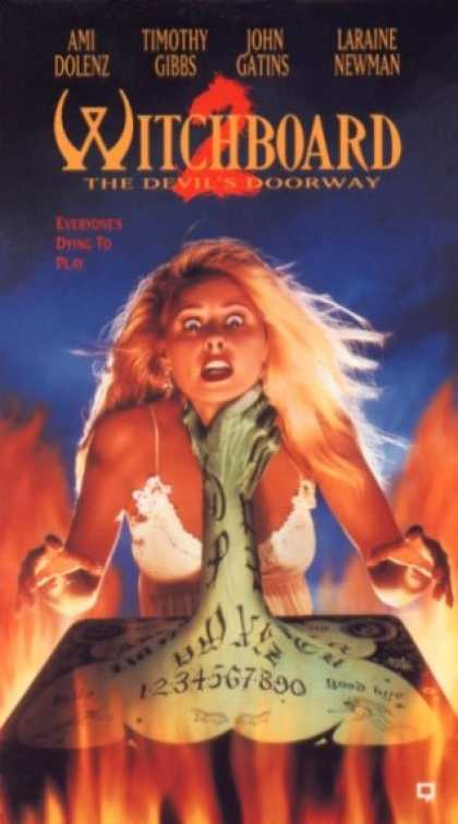 VHS Videos - Witchboard 2 the Devil's Doorway