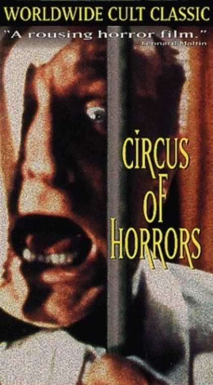 VHS Videos - Circus Of Horrors