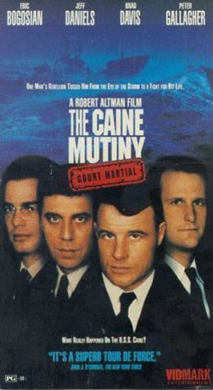 VHS Videos - Caine Mutinity Court Martial