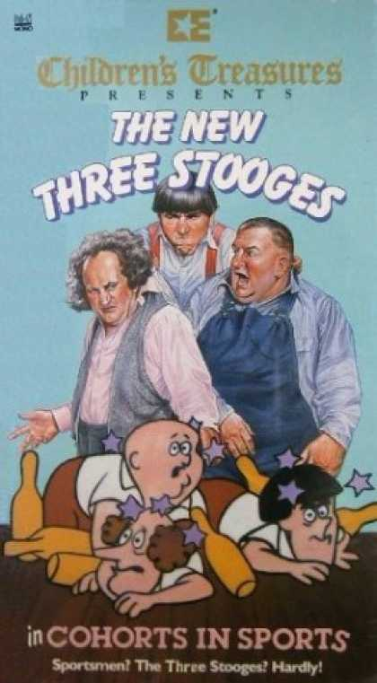 VHS Videos - New Three Stooges
