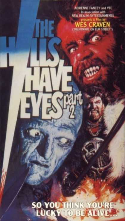 VHS Videos - Hills Have Eyes Part 2