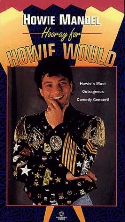 VHS Videos - Howie Mandel Hooray For Howie Would