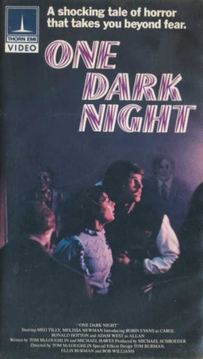 VHS Videos - One Dark Night Thorn