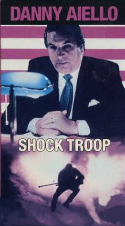 VHS Videos - Shock Troop