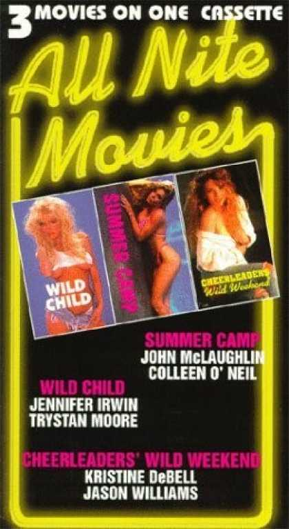 VHS Videos - All Nite Movies Vol. 2