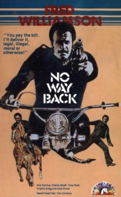 VHS Videos - No Way Back