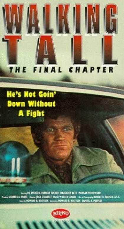 VHS Videos - Walking Tall Final Chapter