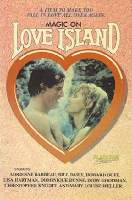 VHS Videos - Magic On Love Island