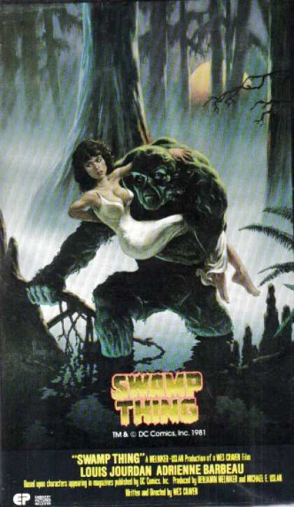 VHS Videos - Swamp Thing
