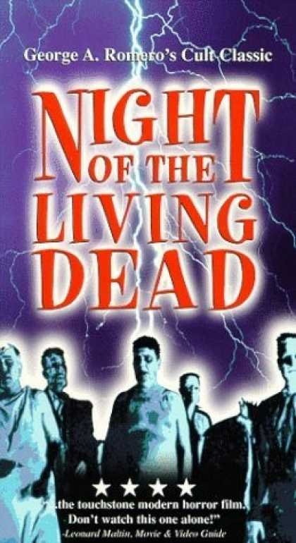 VHS Videos - Night Of the Living Dead United American