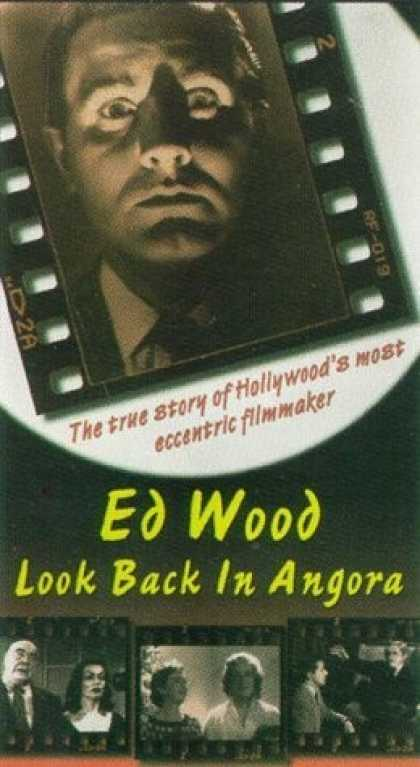 VHS Videos - Ed Wood Look Back in Angora