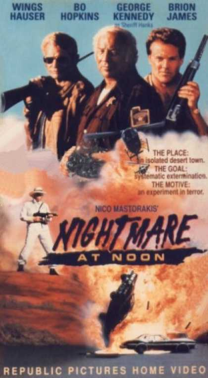 VHS Videos - Nightmare At Noon