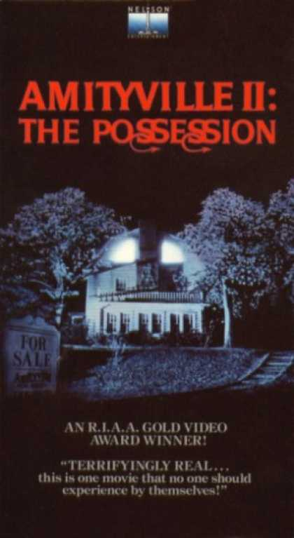 VHS Videos - Amityville 2 the Possession