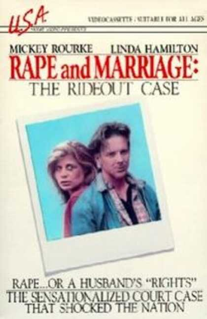 VHS Videos - Rape and Marriage the Rideout Case