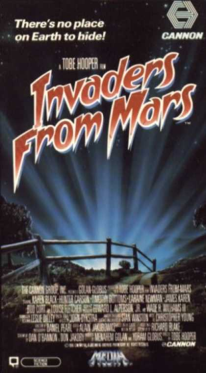 VHS Videos - Invaders From Mars 1986