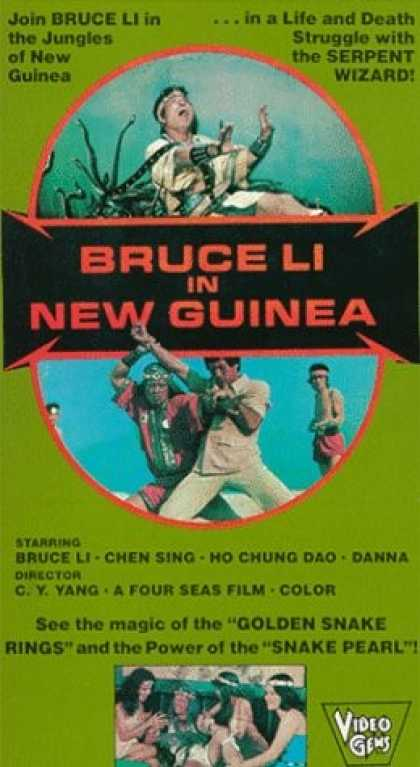 VHS Videos - Bruce Li in New Guinea