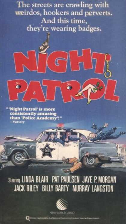VHS Videos - Night Patrol