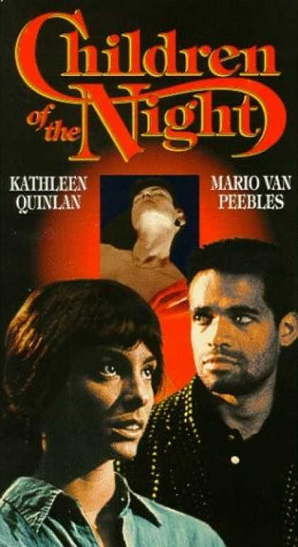VHS Videos - Children Of the Night United American