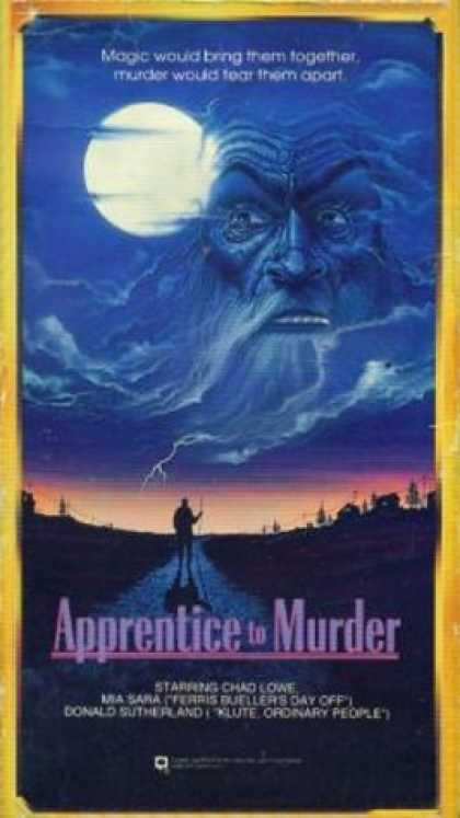 VHS Videos - Apprentice To Murder