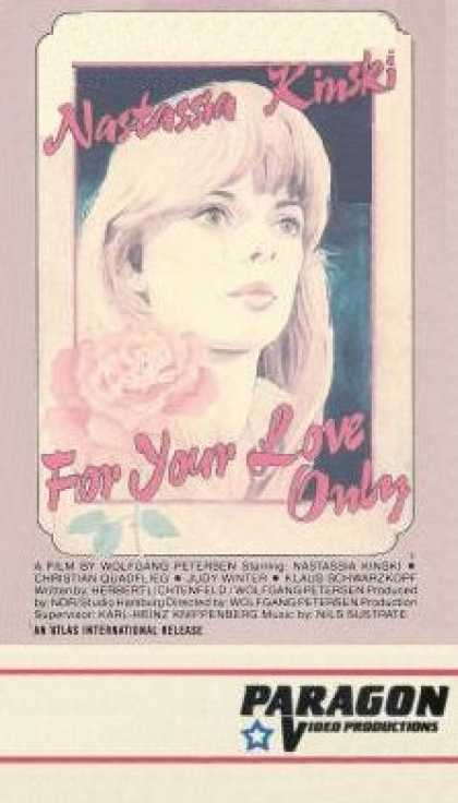 VHS Videos - For Your Love Only