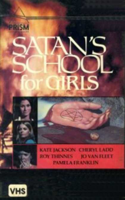 VHS Videos - Satan's School For Girls