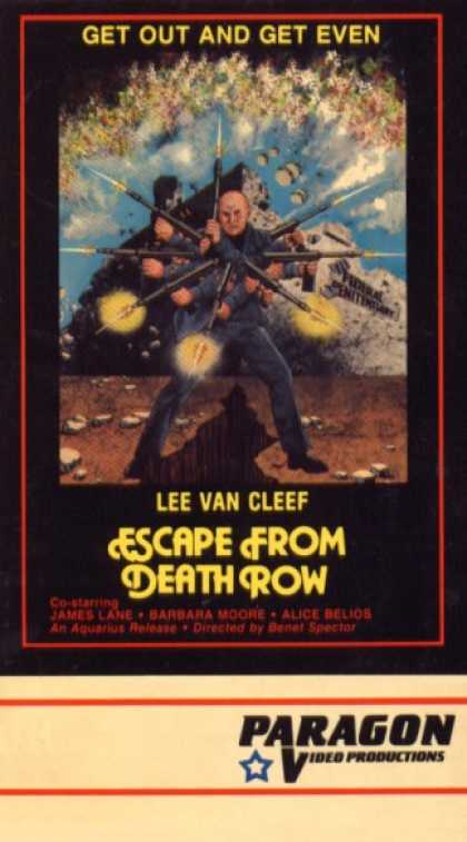 VHS Videos - Escape From Death Row