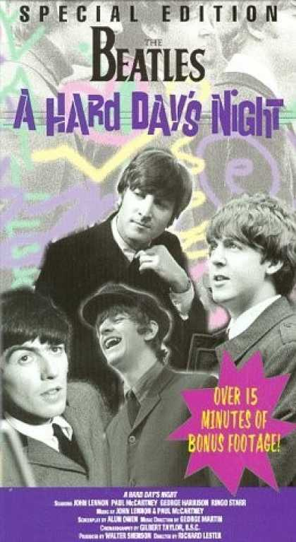 VHS Videos - Hard Day's Night