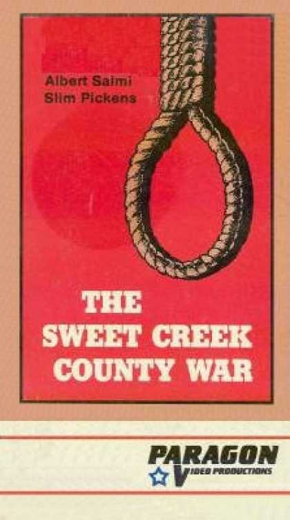 VHS Videos - Sweet Creek County War