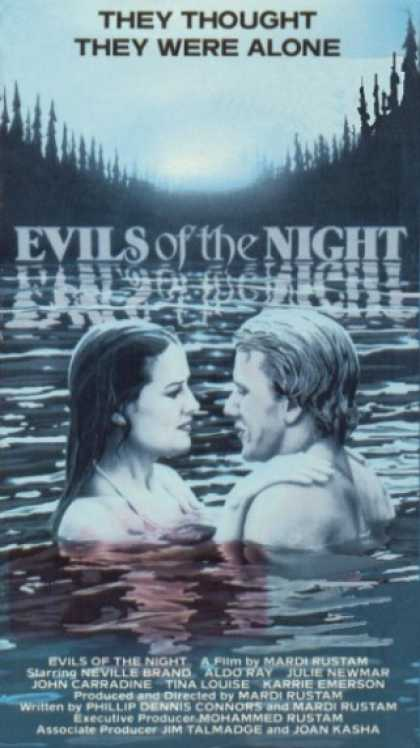 VHS Videos - Evils Of the Night