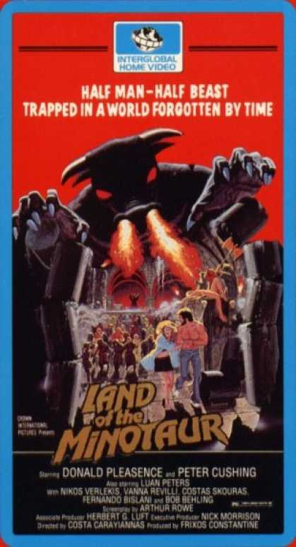 VHS Videos - Land Of the Minotaur
